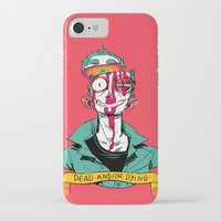 musa iPhone & iPod Cases featuring dead and/or dying by musa