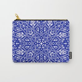 Amirah Blue Carry-All Pouch