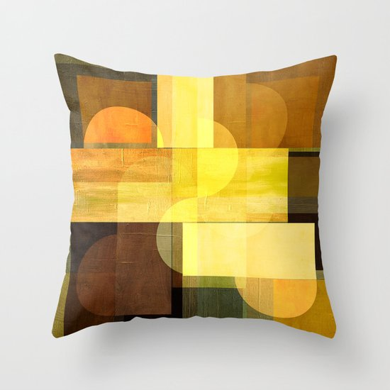 Textures/Abstract 92 Throw Pillow