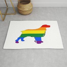 Rainbow Spaniel Rug