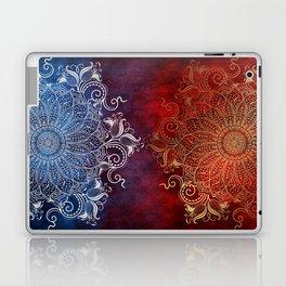 Mandala - Fire & Ice Laptop & iPad Skin