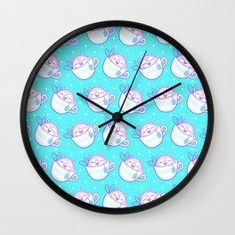Owl Tea Wall Clock