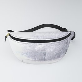 White Forest Fanny Pack