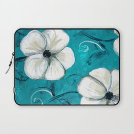 Flowers in Oil Laptop Sleeve