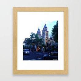 Euro Tour 1 Framed Art Print
