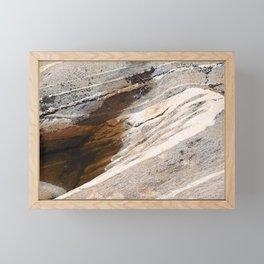 Nordic old stones Framed Mini Art Print