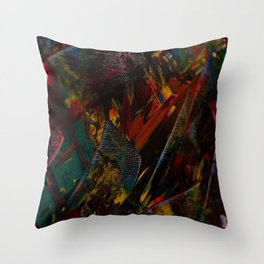 Ordered Chaos CU Colours Throw Pillow