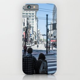 San Francisco street lines iPhone Case