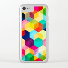 Hexa Clear iPhone Case