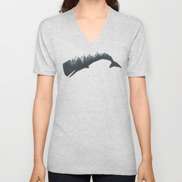 The Forest In The Whale Unisex V-Neck