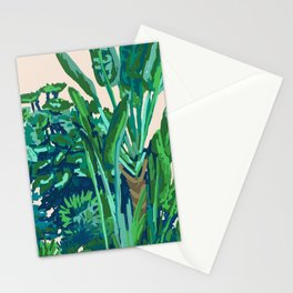 Green House Garden  Stationery Cards