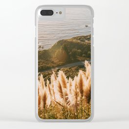Big Sur at Sunset Clear iPhone Case