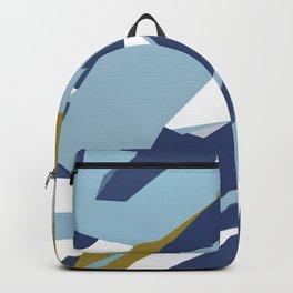 Hastings Navy Backpack