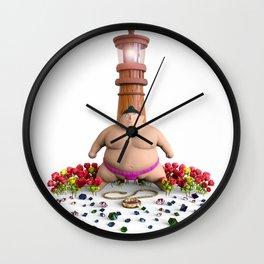 Sumo Wall Clock