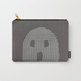 Ghost Typography Carry-All Pouch
