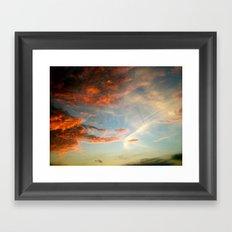 Mexico Sunset Framed Art Print