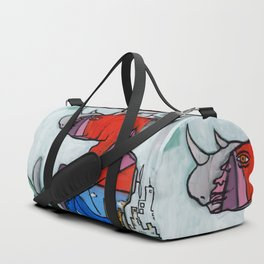Contemplating Collective Consciousness by Amos Duggan 2013 Duffle Bag