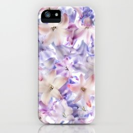 Hyacinth Flowers iPhone Case