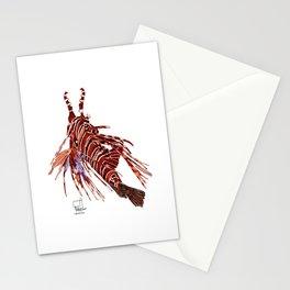 Spotfin Lionfish 2 Stationery Cards