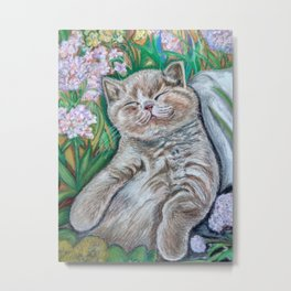 Kitten (A Midsummer Day's Dream) Metal Print