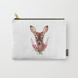 Fireweed Deer Carry-All Pouch