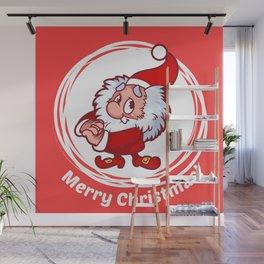 Christmas gnome Wall Mural