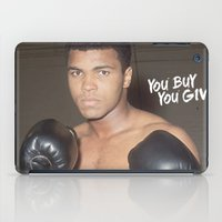ali iPad Cases featuring Ali #1 by YBYG