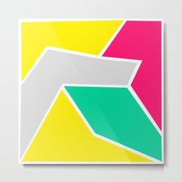 Modern Cubism 01 Metal Print