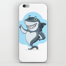 Smiling Shark Gives a Thumbs Up iPhone Skin