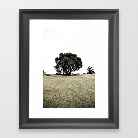 haunted (two) Framed Art Print