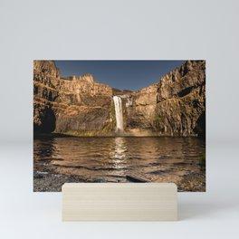 Desert Waterfall - Summer In Palouse Mini Art Print