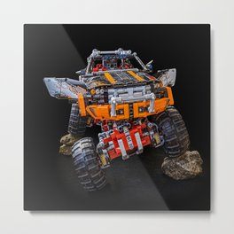 monster truck technic technic Metal Print