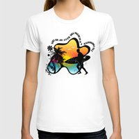 surfing T-shirts featuring Surfing by mark ashkenazi