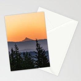 Mount Jefferson Morning - Nature Photography Stationery Cards
