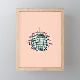 Glowin' Up! Framed Mini Art Print