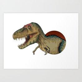 Tyrannosaurs Rex Art Print