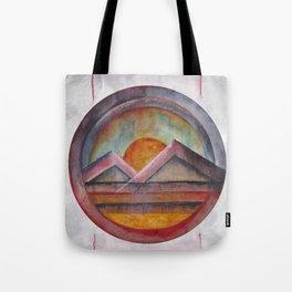 Geometric landscapes 02 Tote Bag