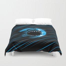 Shark Lines attack Duvet Cover