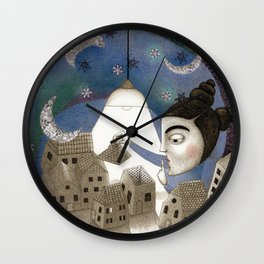 Go to Sleep, Says the Night Wall Clock