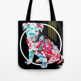 BRAD PITT-BULL Tote Bag