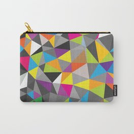 Colorful Geometric Art Carry-All Pouch