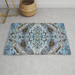 Southwestern Turquoise Pattern Rug