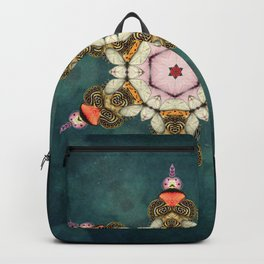 butterfly Medallion Backpack