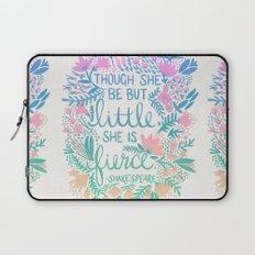 Little & Fierce – Lavender Mint Ombré Laptop Sleeve