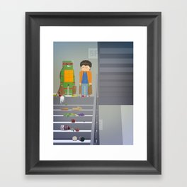 The Nick Yorkers in October Framed Art Print