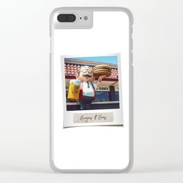 Burgers & Beers Clear iPhone Case