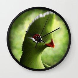 Knysna Turaco Wall Clock