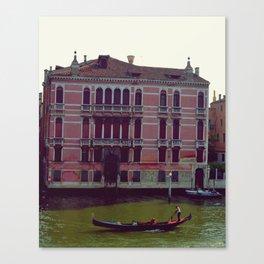 Gondola. Canvas Print