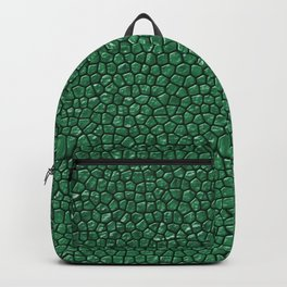 Sea Reptile Skin Backpack