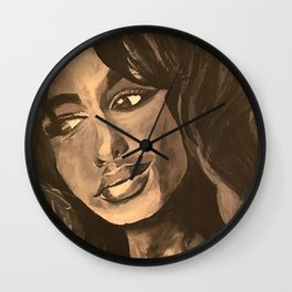 Normal Girl Wall Clock